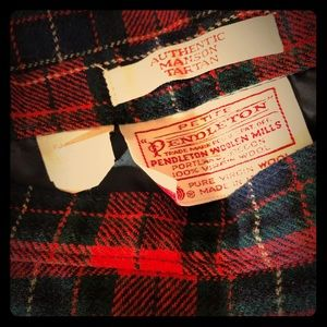 Pendleton skirt (vintage)